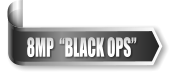 "8MP  ""BLACK OPS"""